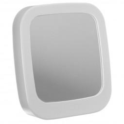 Miroir PVC à poser gris