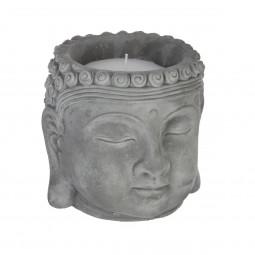 Bougie bouddha parfumée citronnelle