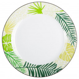 Assiette plate jungle 27cm