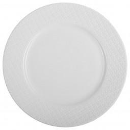 Assiette plate croisillon 27cm