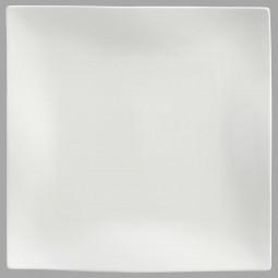 Assiette de présentation carrée onde 30cm