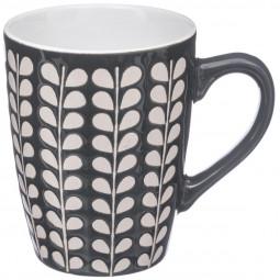 Mug rond colorfield gris foncé 30 cl