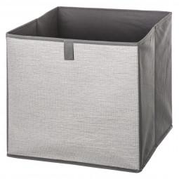 Boîte de rangement irisé gris foncé 31X31