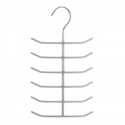 Cintre métal PVC cravates