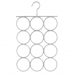 Cintre métal PVC foulards