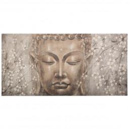 Toile Bouddha 58X118