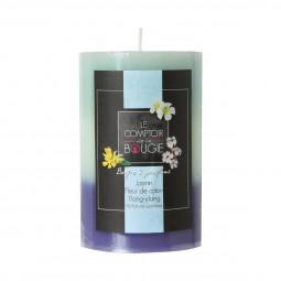 Bougie parfumée tricolore 6.5X10