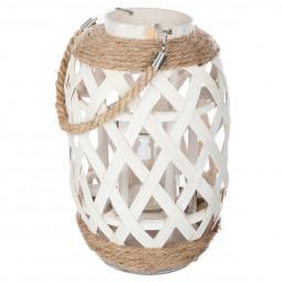 Lanterne bambou etnik H32