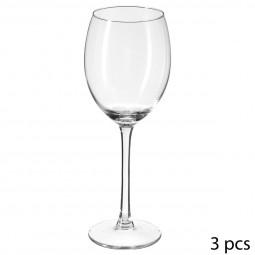 Lot de 3 verres à vin style 33CL