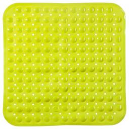 Fond de douche PVC vert anis