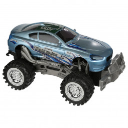 Voiture à friction monster truck fast rider