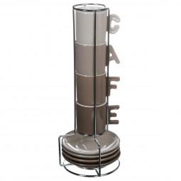 Lot de 4 tasses à café