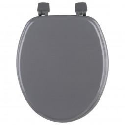 Abattant WC bois gris