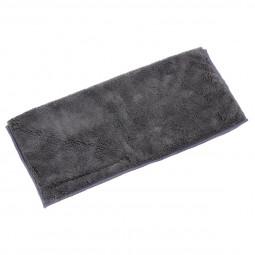 Serpillière microfibre grise L'universelle avec scratch 36 x 34 cm