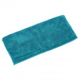 Serpillière microfibre bleue L'universelle avec scratch 36 x 34 cm