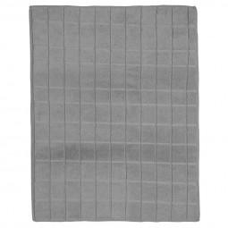 Tapis vaisselle gris en microfibre