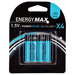 Lot de 4 piles power plus LR03