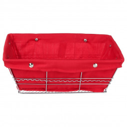 Panier rouge multi-usages - Grand