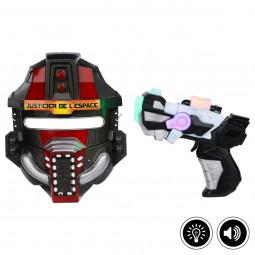 Coffret de l'espace masque + pistolet lumineux