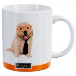 Lot de 4 mugs chiens 35cl