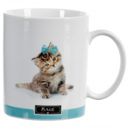 Lot de 4 mugs chats 35cl
