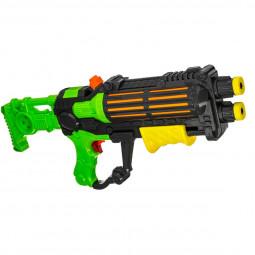 Pistolet à pompe à eau 2 Jets - 48 cm