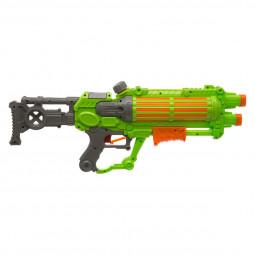 Pistolet à pompe à eau 2 Jets mitrailleurs - 57 cm