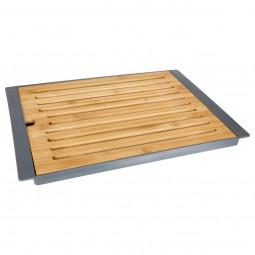 Planche à pain en bambou + plateau