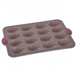 Moule en silicone  16 madeleines