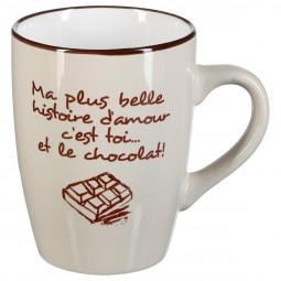 Mug rond chocolat 33cl