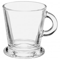 Lot de 4 tasses espresso en verre 8cl