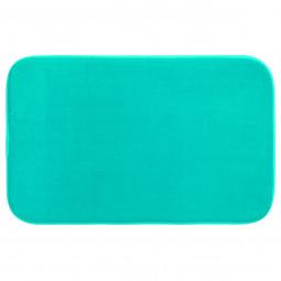 Tapis de bain mémoire de forme turquoise 50X80