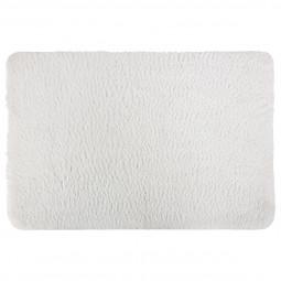 Tapis de bain microfibre blanc 60x90