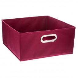 Boîte de rangement  framboise 31X15