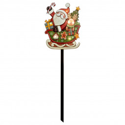 Sticker lumineux à LED Pancarte de Noël H 86 cm Les incontournables