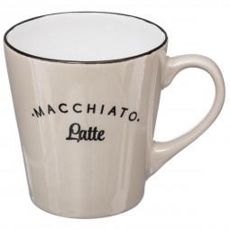 Lot de 4 mugs coniques 26cl Café