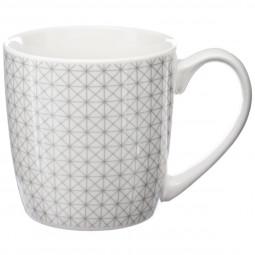 Lot de 4 mugs ronds grafika 32cl