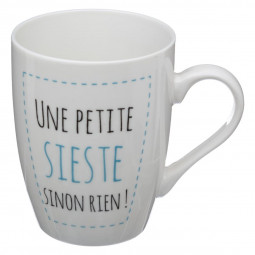 Lot de 4 mugs ronds Insolent 37cl