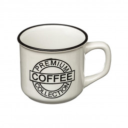 Mug 14cl aspect émail coffee