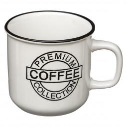 Mug 42cl aspect émail coffee