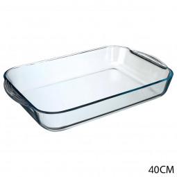 Plat rectangulaire en verre 40X25