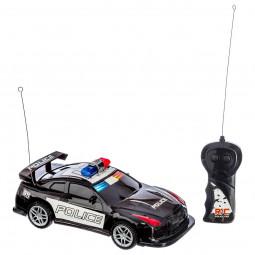 Voiture de police 1:18 radiocommandée