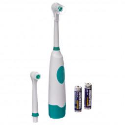 Brosse à dents électrique + 1 recharge + 2 piles