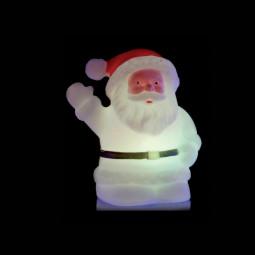 Sujet de Noël lumineux LED à variation de couleur H 8.4 cm