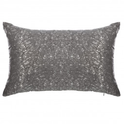 Coussin moucht gold silver 30X50
