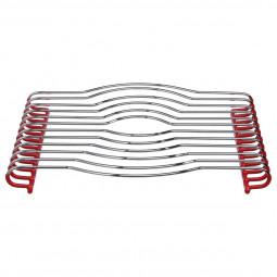 Dessous de plat PVC rouge 29X26