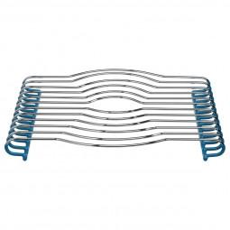 Dessous de plat PVC bleu 29X26