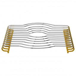 Dessous de plat PVC jaune 29X26