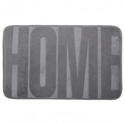 Tapis motif home gris 50X80