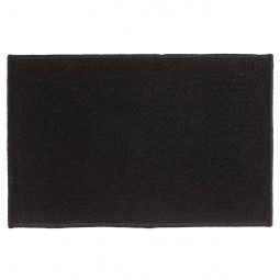 Tapis uni noir 40X60